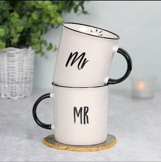 Mr and Mr Wedding Mug Giftset