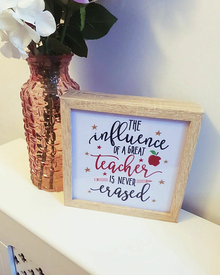 Teacher Light Box Frame