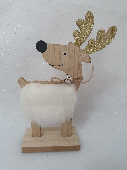 White Furry Reindeer