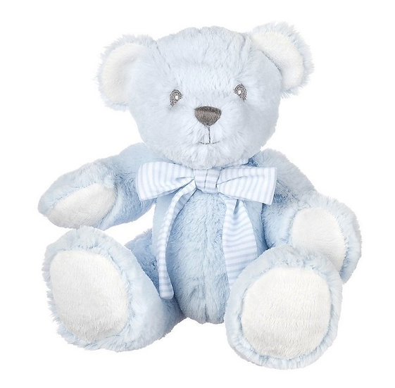 Baby Boy Rattle Bear