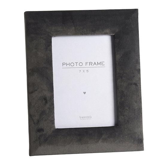 Grey Velvet Touch Frame 7x5