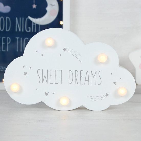 Sweet Dreams Bedroom Light