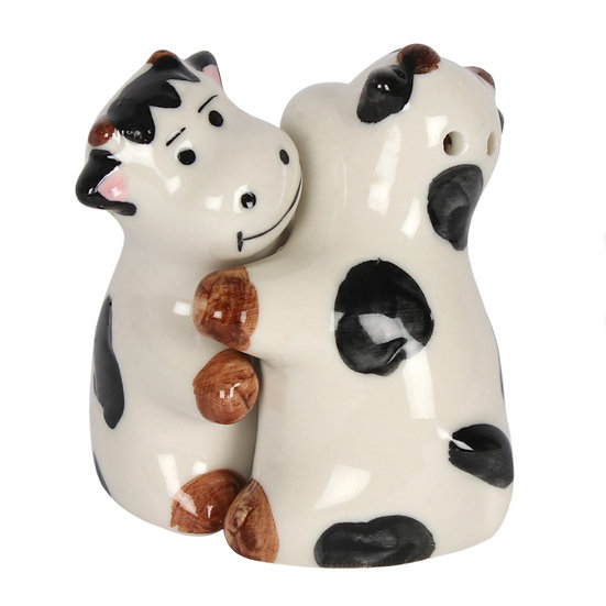 Hugging Cows Salt & Pepper Set