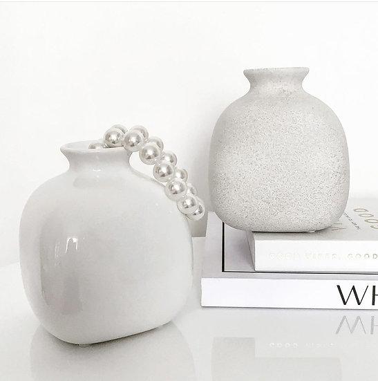 Opal Ceramic Vase