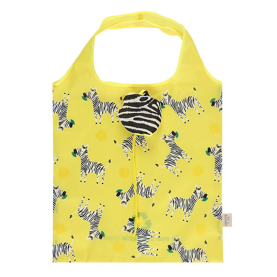 Zoe The Zebra Shopping Bag