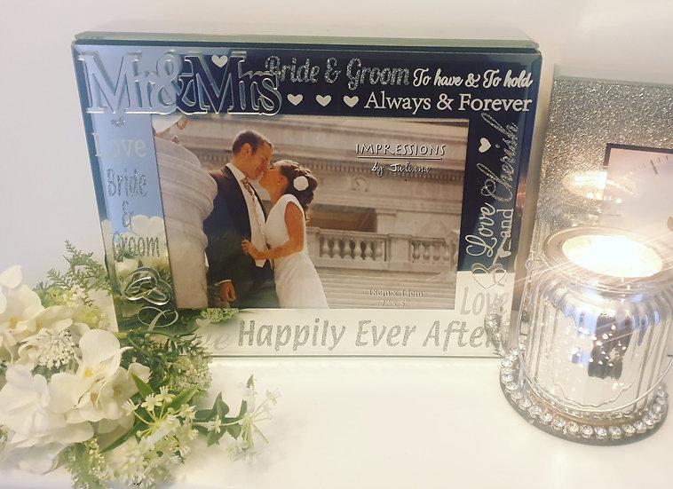 Mr & Mrs Keepsake Memory Box