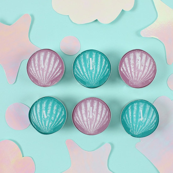 Mermaid Tealights Set