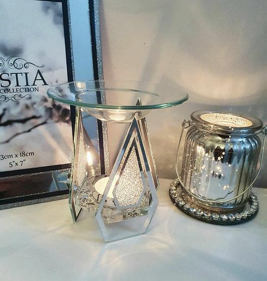 Diamond Crystal Tealight Burner