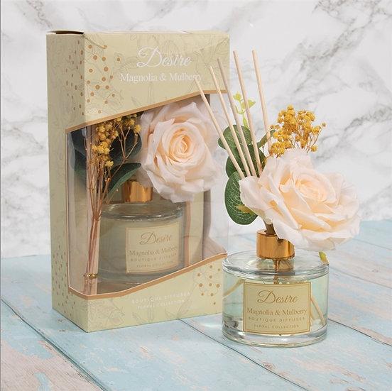 Floral Boutique Diffuser - Magnolia & Mulberry 200ml