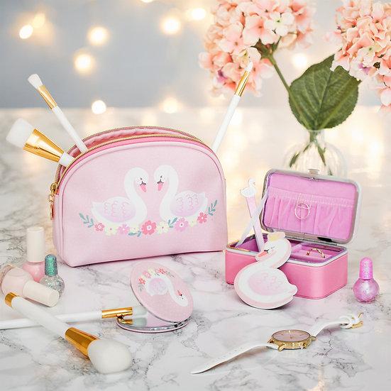 Swan Cosmetic Bag