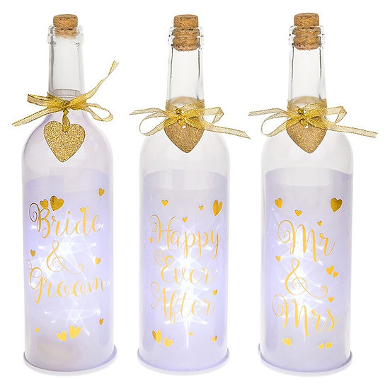 Glow Wedding Bottle