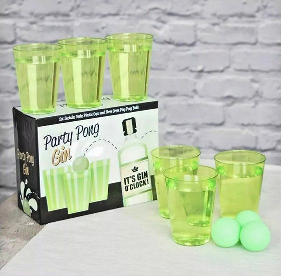 Gin Pong Party Game