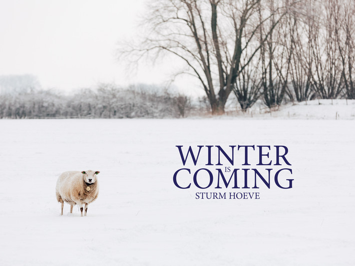 Mijn B&B in Winter :-)