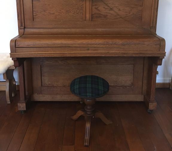 Tabouret de Piano Tweed