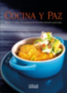 Portada del libro Cocina y Paz porAlejandro Cuellar