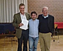 Sorin with James Creitz and Bruno Giuran
