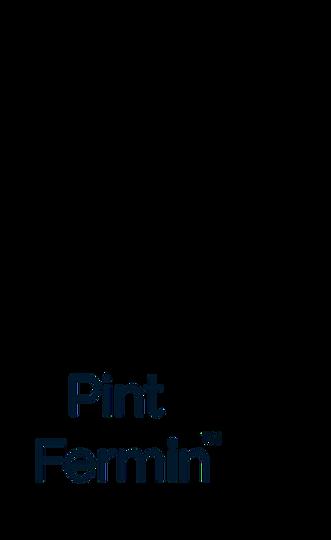 Pint Fermin mason jar logo kombucha san pedro