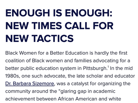 Enough is Enough: New Times Call For New Tactics