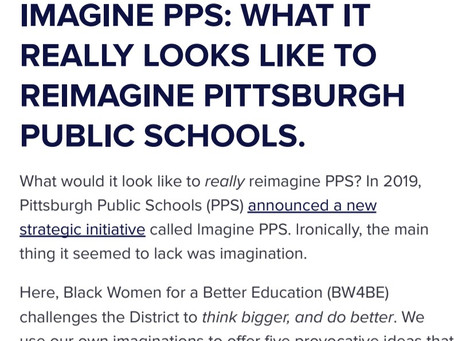 Imagine PPS: What It Really Looks Like To Reimagine Pittsburgh Public Schools