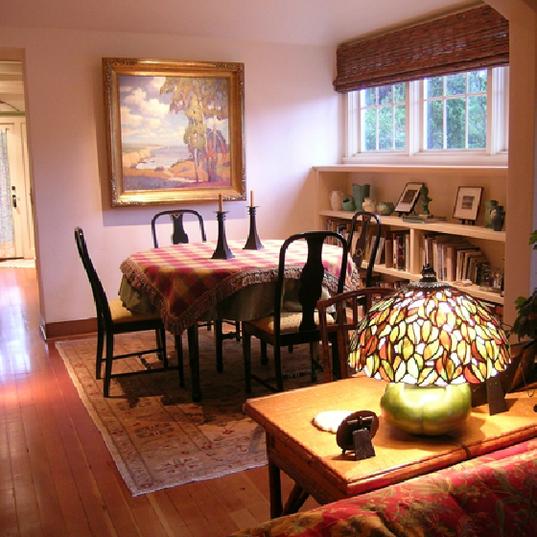 Happy Healthy Homes Craftsman dining room
