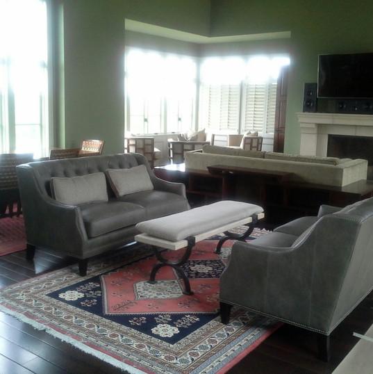 Happy Healthy Homes, Lawrence, KS living room