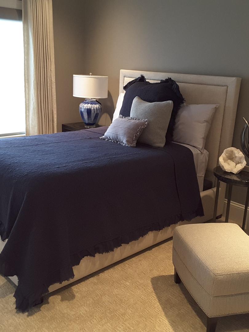 Happy Healthy Homes, Kansas City, MO. Condo guest room