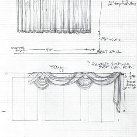 Happy Healthy Homes, detail sketch for different windows same room