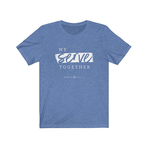 Unisex 'We Serve Together' Tee