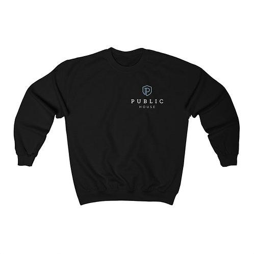 Unisex Pocket Logo Crewneck Sweatshirt