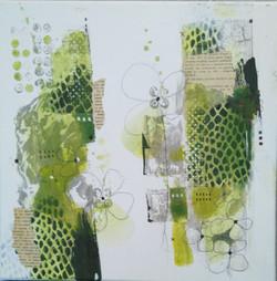 peinture vert