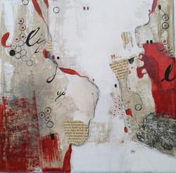 peinture rouge