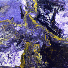 Purple & Gold Melt