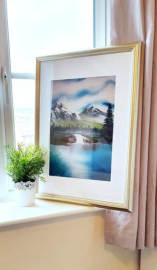 """Idyllic View"" Original Oil Painting Original & Prints"