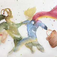 Watercolour Stage