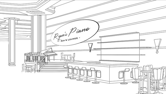 Casino Lobby Concept - Bar