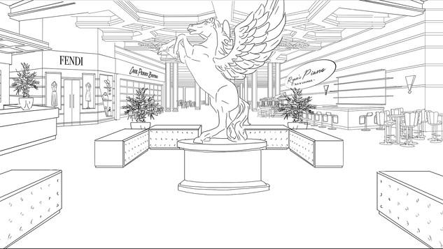 Casino Lobby Concept - Lobby Floor
