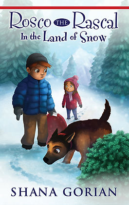 Cover art by Josh Addessi for Rosco the Rascal In the Land of Snow