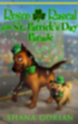 Cover art by Josh Addessi for Rosco the Rascal at the St. Patrick's Day Parade