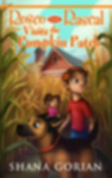 Cover art by Josh Addessi for Rosco the Rascal Visits the Pumpkin Patch