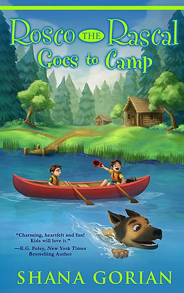 Cover art by Josh Addessi for Rosco the Rascal Goes to Camp