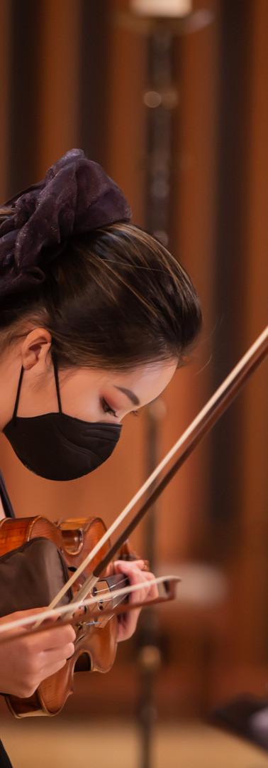 Violinist, Mina Hong