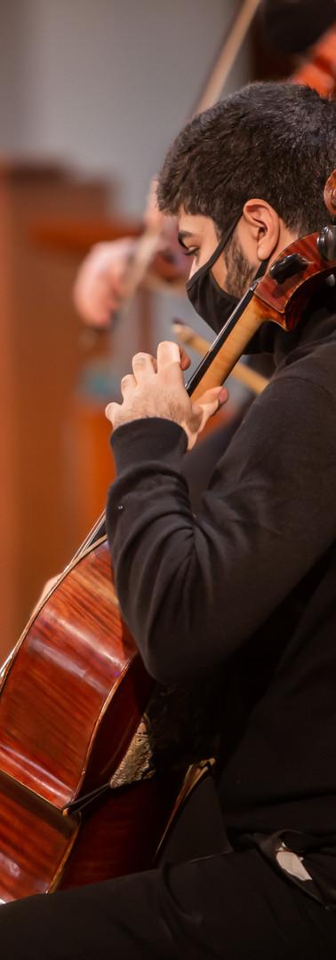 Cellist, Osheen Manukyan