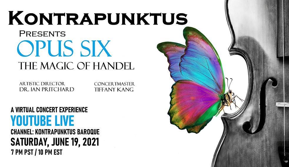 Opus Six_The Magic of Handel_Main Concer