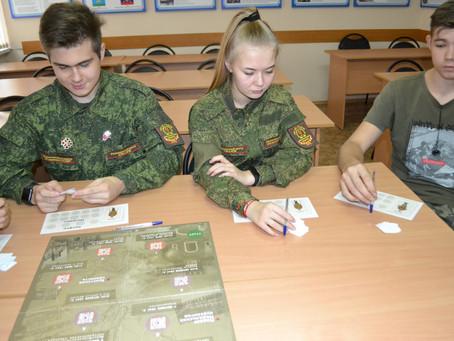 Проведение игры с воспитанниками ВПО «Пламя»