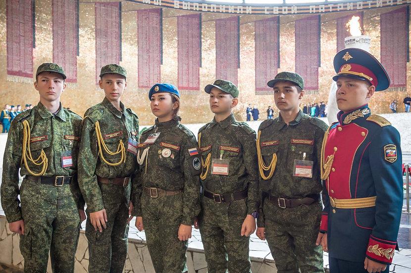 Военно-патриотичсекое объединение Пламя