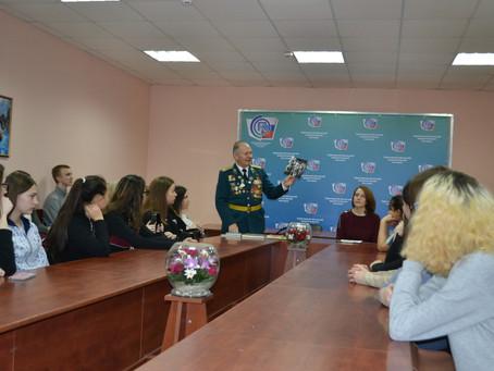 Встреча с действительным членом генеалогического общества Троян Николай Петровичем