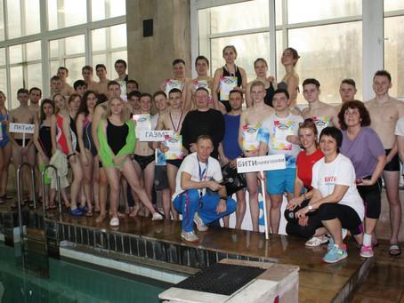 В Балакове прошли соревнования по плаванию