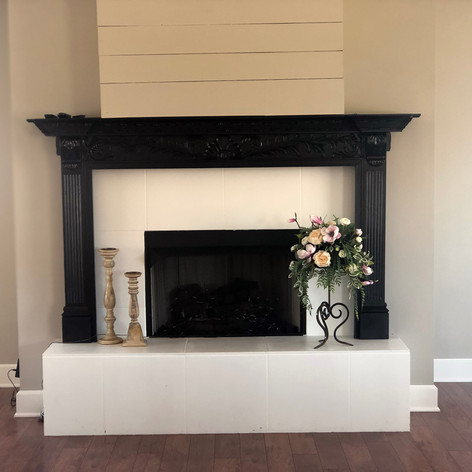 Fireplace in Reception Hall