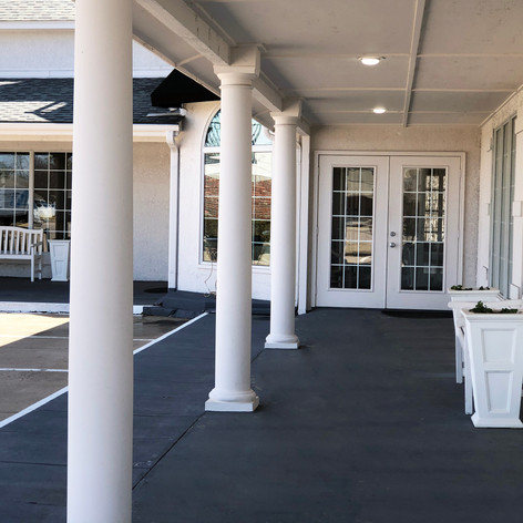Venue Exterior Porch