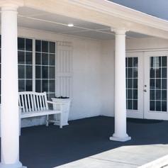 Event Venue Exterior Porch